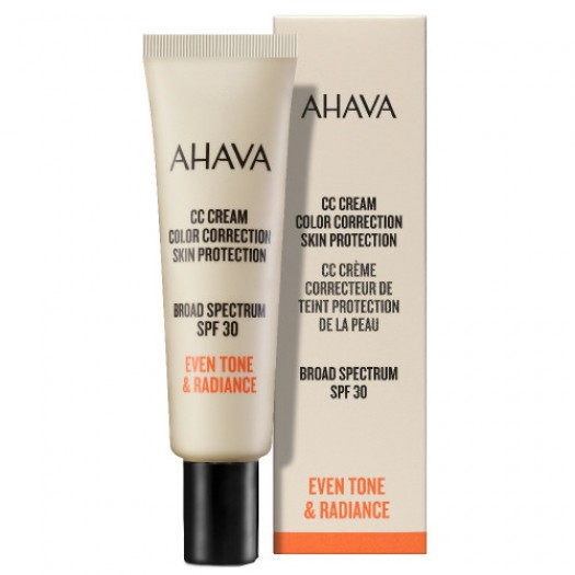 AHAVA CC Cream Color Correction SPF30, 30 ml