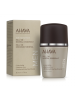AHAVA Roll-On Mineral Deodorant for Men, 50ml