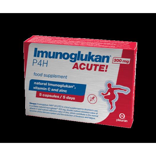 Imunoglukan Acute, 5 capsules