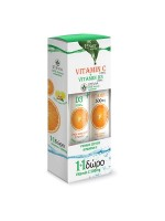 Power Of Nature Vitamin C 1000mg Vitamin D3 1000iu + Vitamin C 500mg
