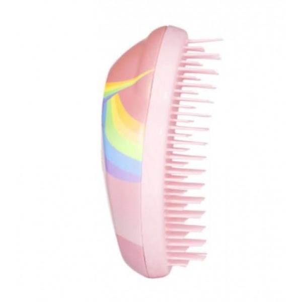 Tangle Teezer Hair Brush Original Mini Wet And Dry small, Rainbow the Unicorn