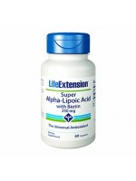 Life Ext Super Alpha Lipocid Wih Biotin 250mg, 60 capsules